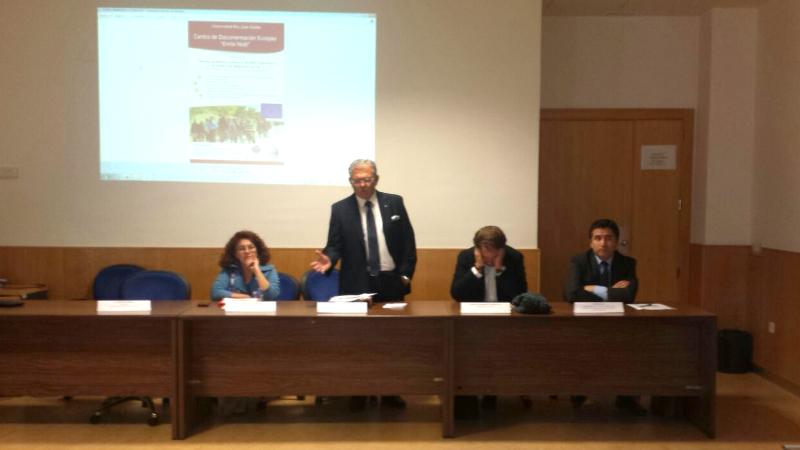 """AME participó en el seminario que realizó el Centro de Documentación Europea """"Emilio Nobel"""""""