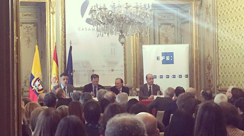 Visita del Alto Comisionado por la Paz, Sergio Jaramillo a Europa