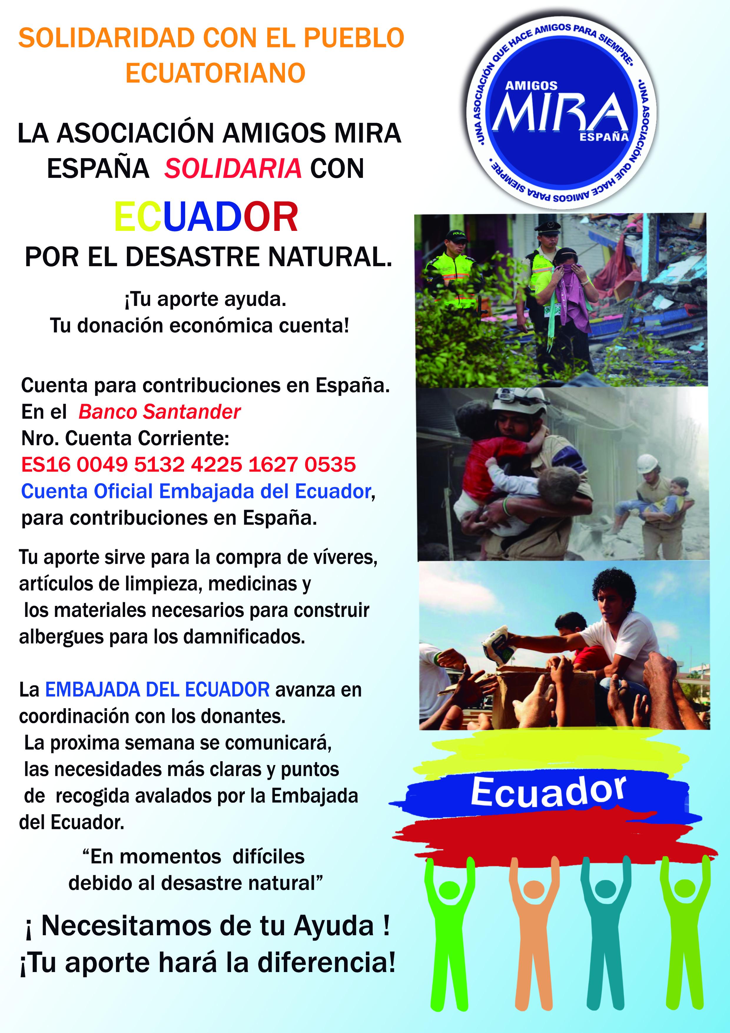 Ecuador ayuda España