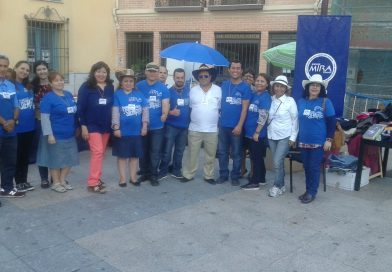 La Asociación Amigos Mira España, sede Madrid apoyando en la Feria solidaria de Ecuador