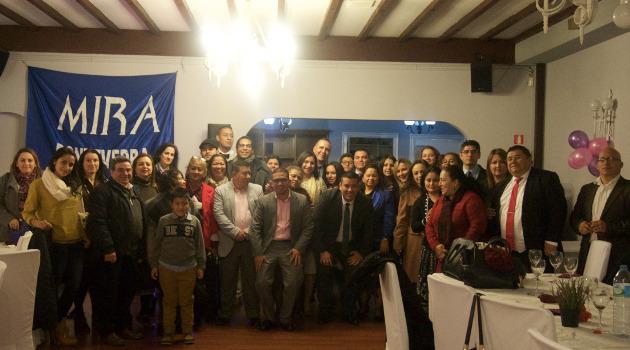 Celebración de cena benéfica en la ciudad de Pontevedra