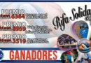 1, 2º y 3r PREMIO RIFA SOLIDARIA Edición IV