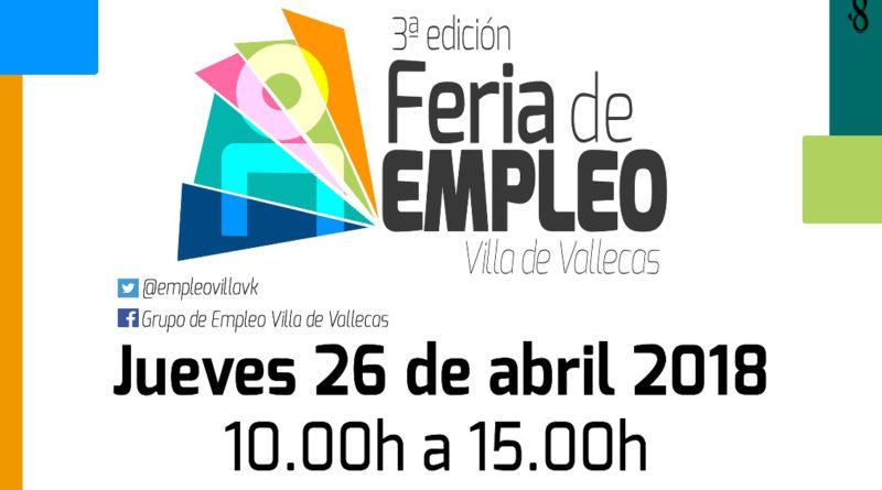 III edición de la Feria de Empleo de Villa de Vallecas